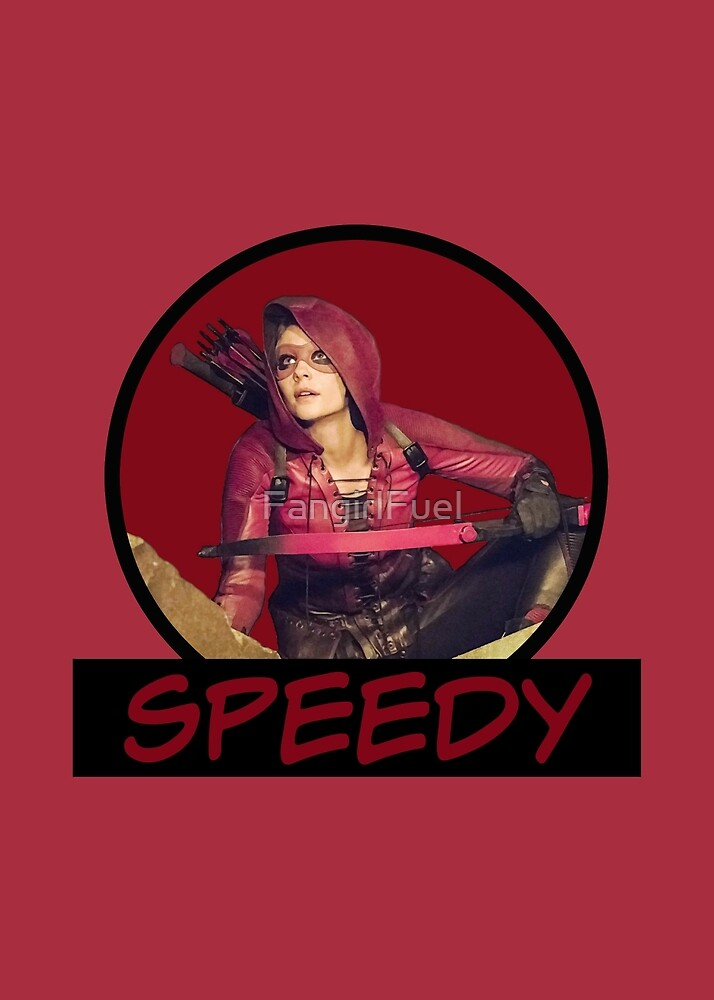 Speedy - Thea Queen - Comic Book Text by FangirlFuel