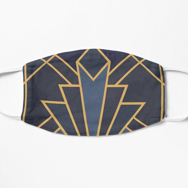 Art Deco inspiration Flat Mask