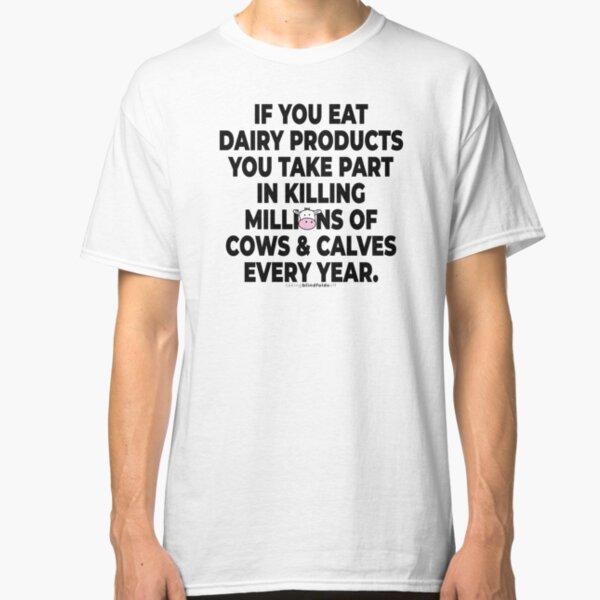 Vegan Activist Graphics #takingblindfoldsoff 28 v2 Classic T-Shirt