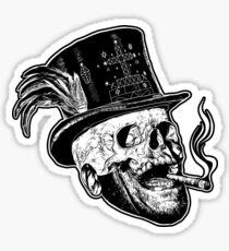 Baron Samedi (B&W variant) Sticker