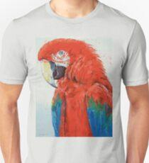 Crimson Macaw Unisex T-Shirt