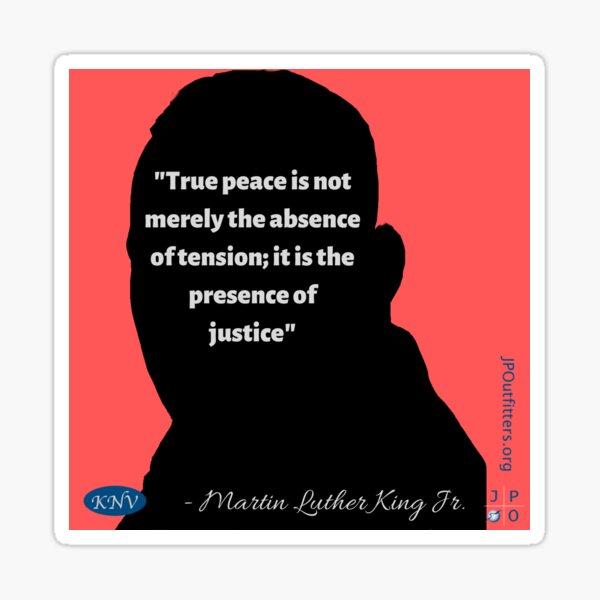 Kingian Nonviolence Quote Sticker