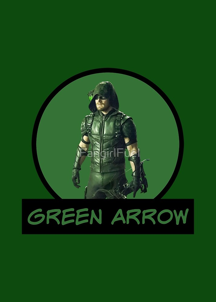 Green Arrow - Oliver Queen - Comic Book Text by FangirlFuel