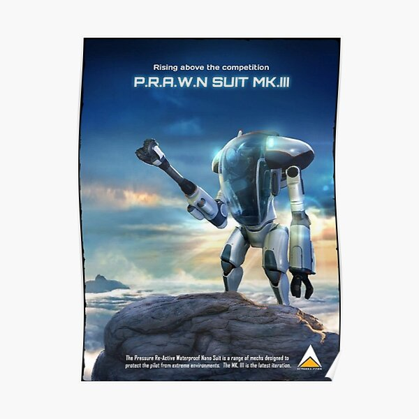 poster with prawn suit Poster