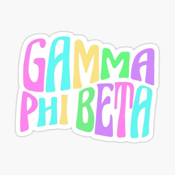 Gamma phi beta sorority sticker! Sticker