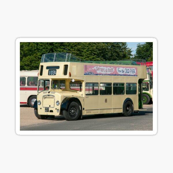 Open Top Bristol Bus Sticker