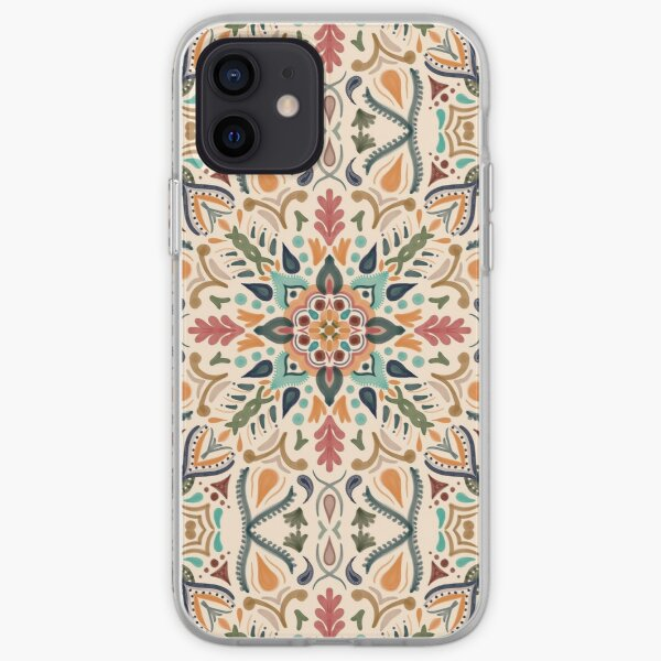 Hacienda mandala Funda blanda para iPhone