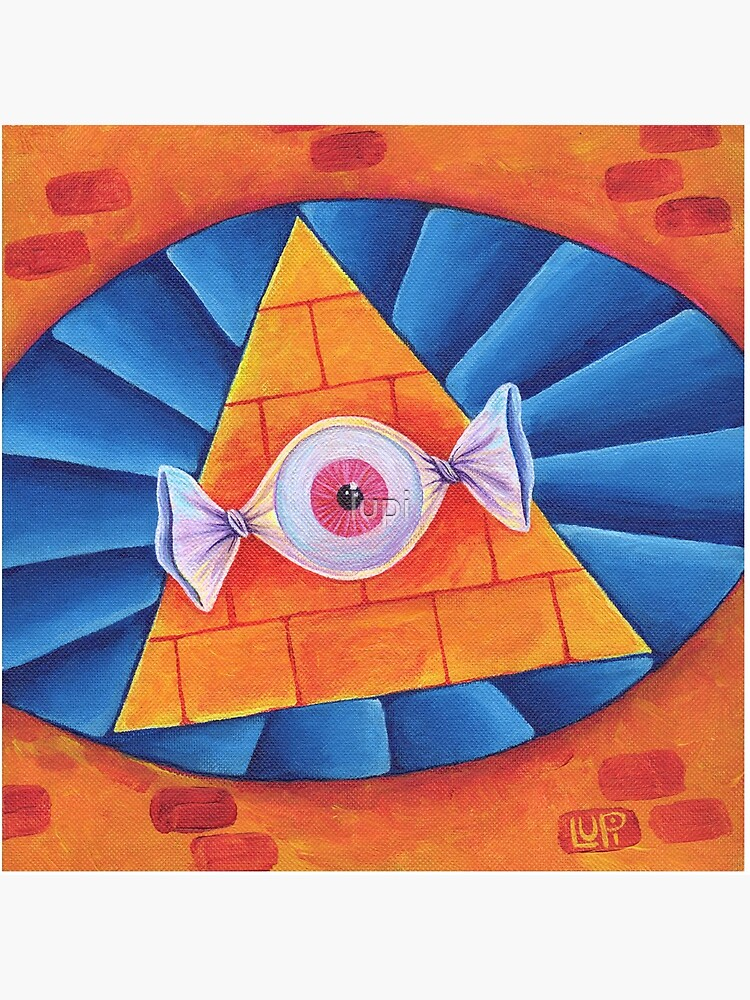 The All-Seeing Eye Candy by lupi