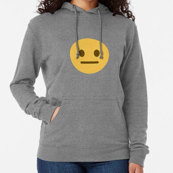 neutral face emoji Lightweight Hoodie