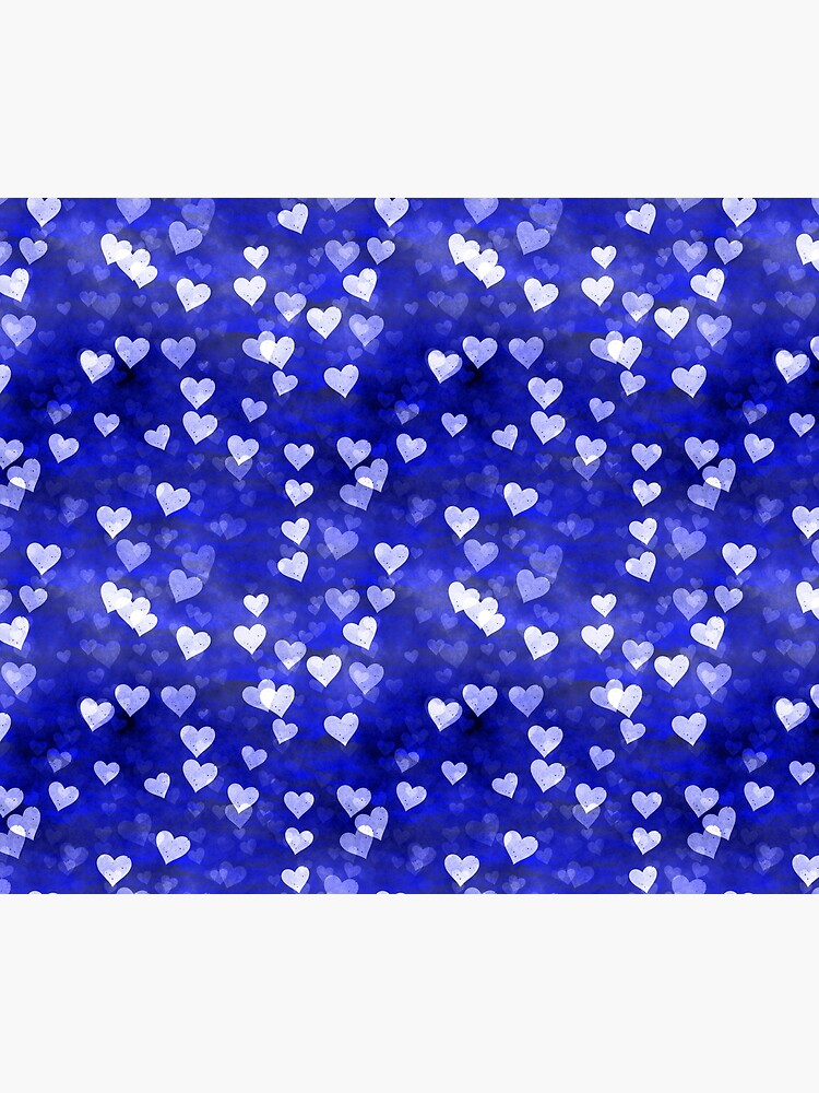 Hearts,blue and white by starchim01