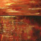 Sunset's Reflection by Alga Washington