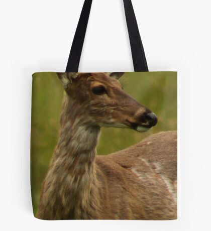 Deer Bust Portrait Tote Bag