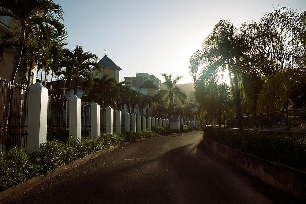 Walkway Ocho Rios Jamaica by pxlcrshr