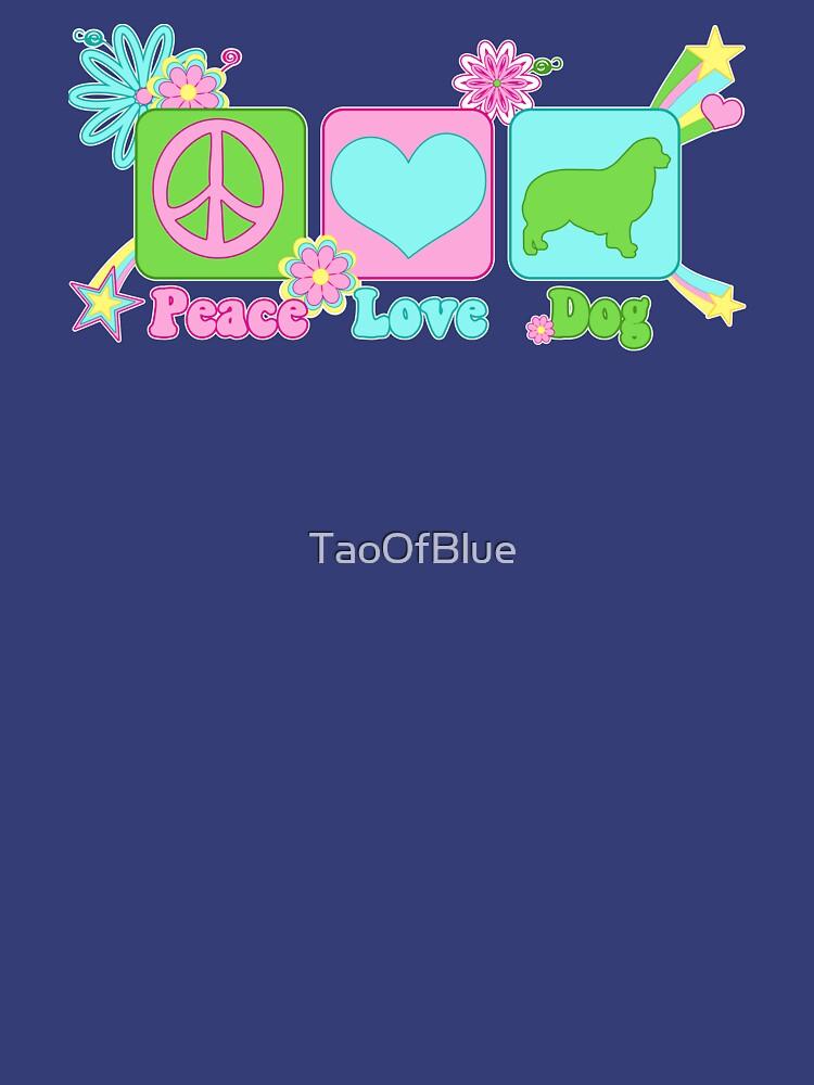 Peace, Love, Australian Shepherd by TaoOfBlue