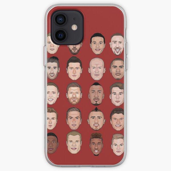 FC Bayern München 2016 iPhone Soft Case