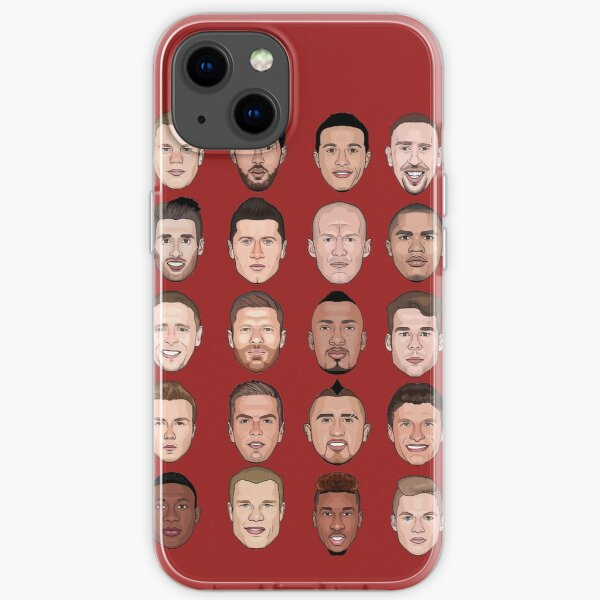 FC Bayern München 2016 iPhone Flexible Hülle