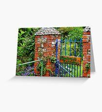 Lymbrook Cottages ~ Lyme Regis Greeting Card