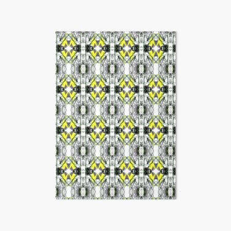 """""""Spring Will Come"""" Daffodil in Snow Surface Pattern Design by Jenny Meehan  Art Board Print"""