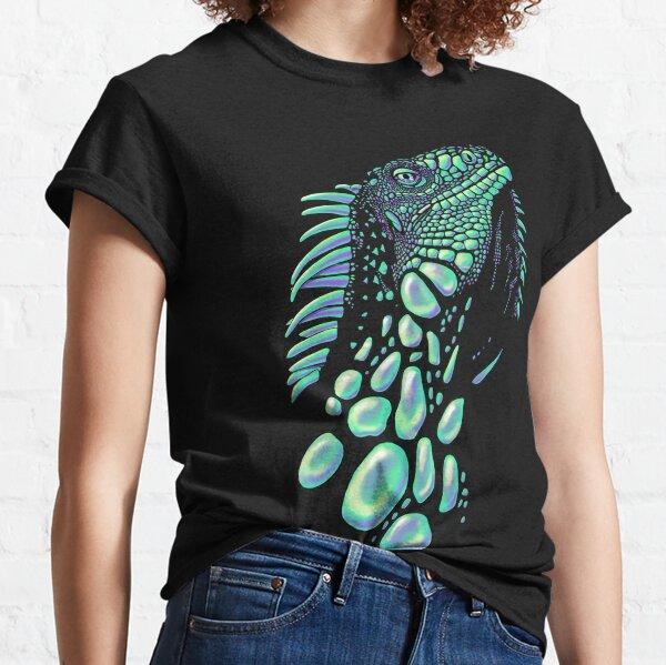 Iguana (soap bubbles) Classic T-Shirt