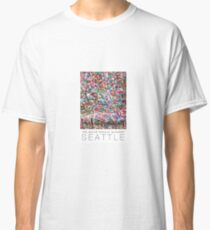Gum Wall of Seattle # 2 Classic T-Shirt
