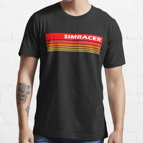 Simracer Simracing Virtual Racing Camiseta esencial