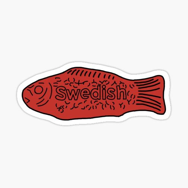 swedish fish Sticker