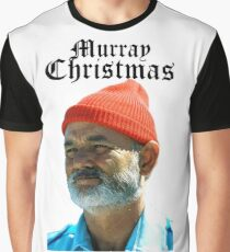 Murray Christmas - Bill Murray  Graphic T-Shirt