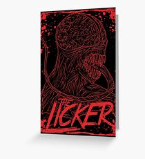 Licker Greeting Card