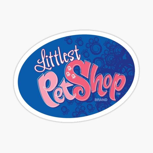 Original Littlest Pet Shop logo Sticker