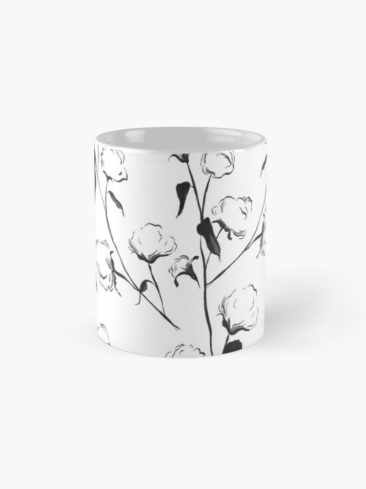 Alternate view of Black and White Cotton Mug