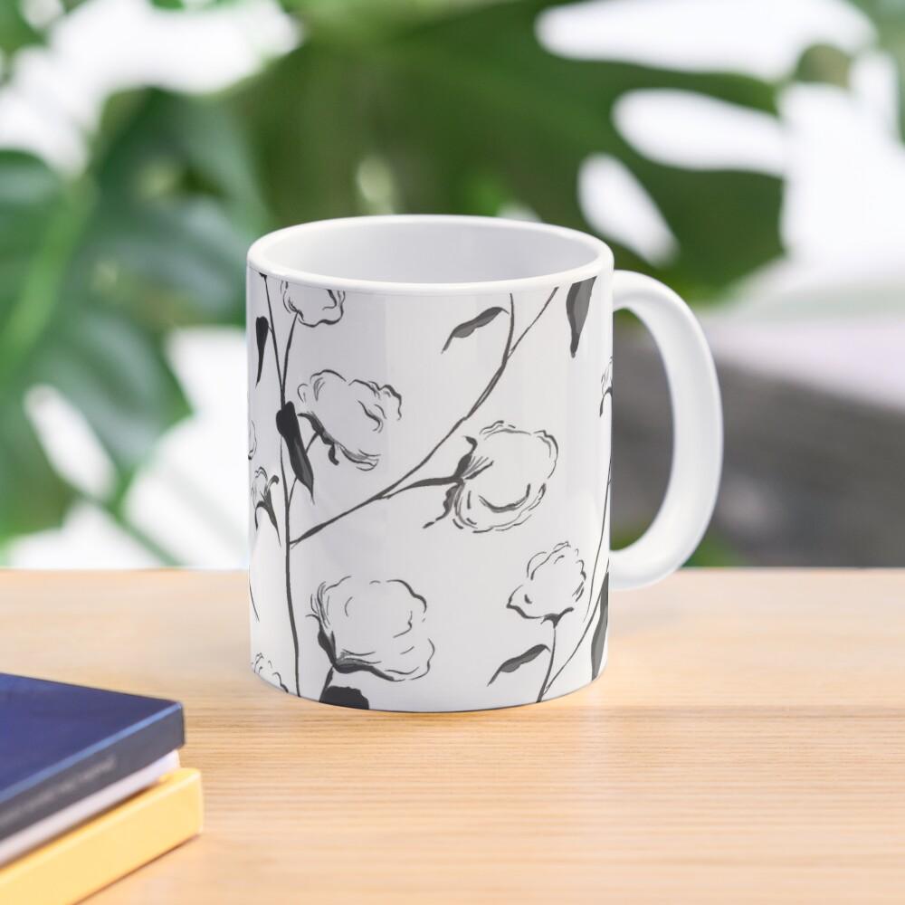 Black and White Cotton Mug