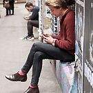 AC/DC laneway Melbourne by Cecily  Graham
