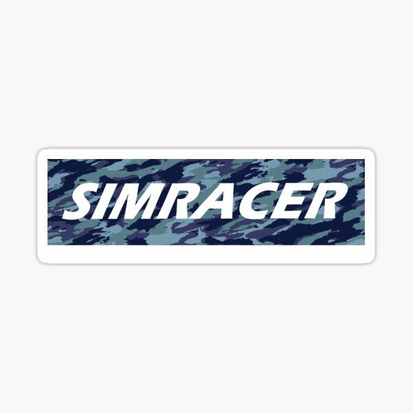 Simracer Simracing Virtual Racing Sticker