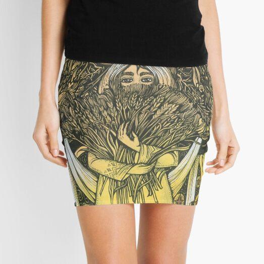 Wheat Mini Skirt
