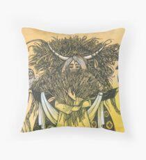Wheat Throw Pillow