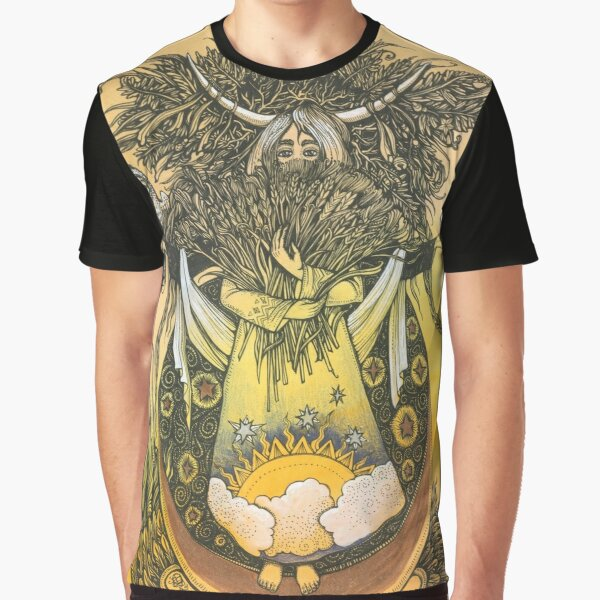 Wheat Graphic T-Shirt