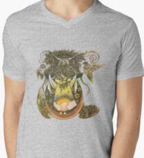 Wheat V-Neck T-Shirt