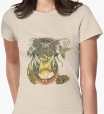 Wheat Women's Fitted T-Shirt