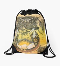 Wheat Drawstring Bag