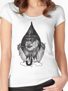 Penguin by Pattoo Women's Fitted Scoop T-Shirt
