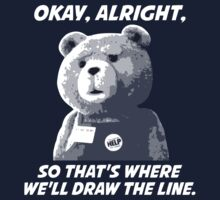 Draw the Line Ted