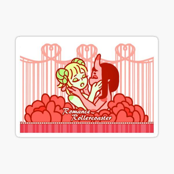 Romance Rollercoaster Sticker