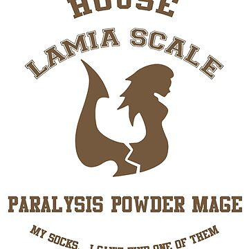 Paralysis Powder Mage of Lamia Scale - normal by scarletxtears