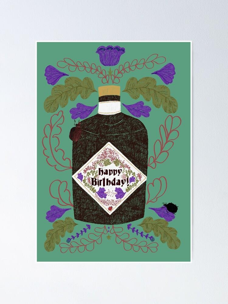 Alternate view of Happy birthday! Poster