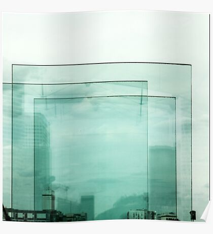 Panes of glass Poster