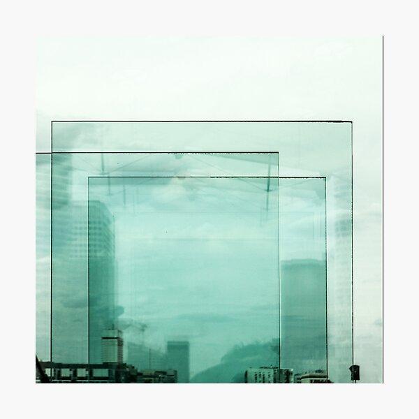 Panes of glass Photographic Print