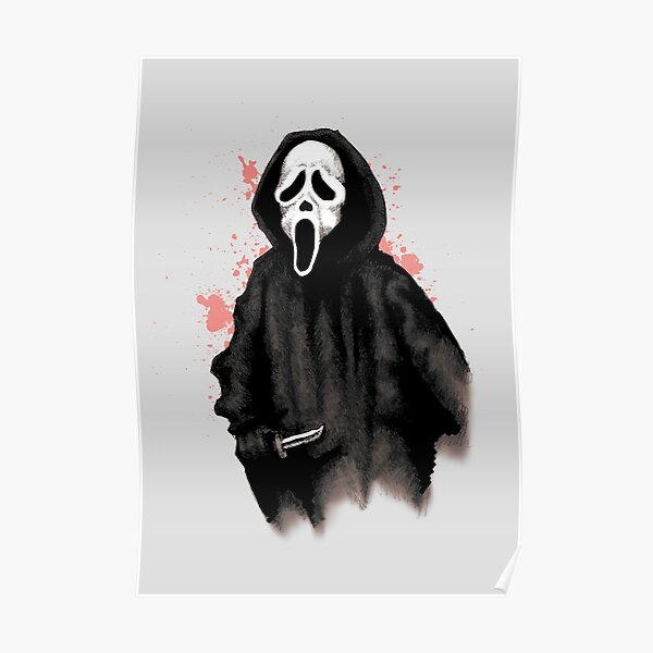 Ghost Face Poster