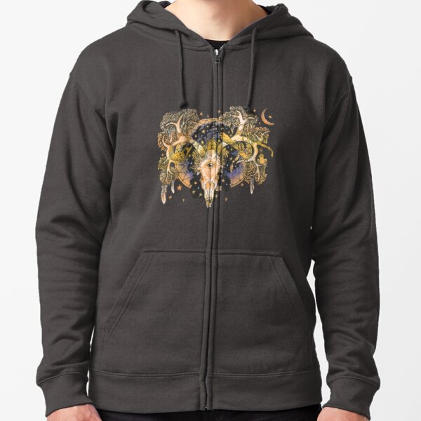 Parallel Universe Zipped Hoodie