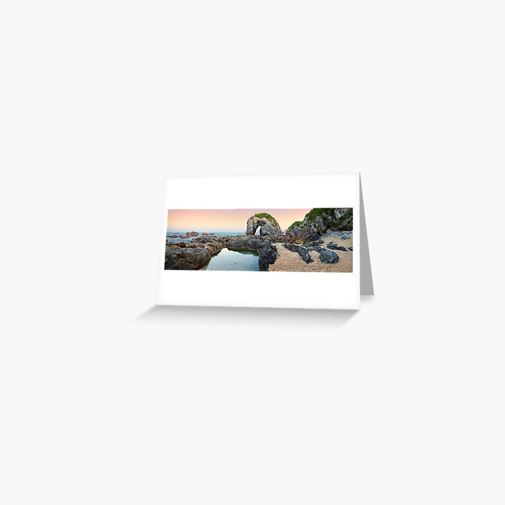 Horse Head Rock, Bermagui, New South Wales, Australia Greeting Card