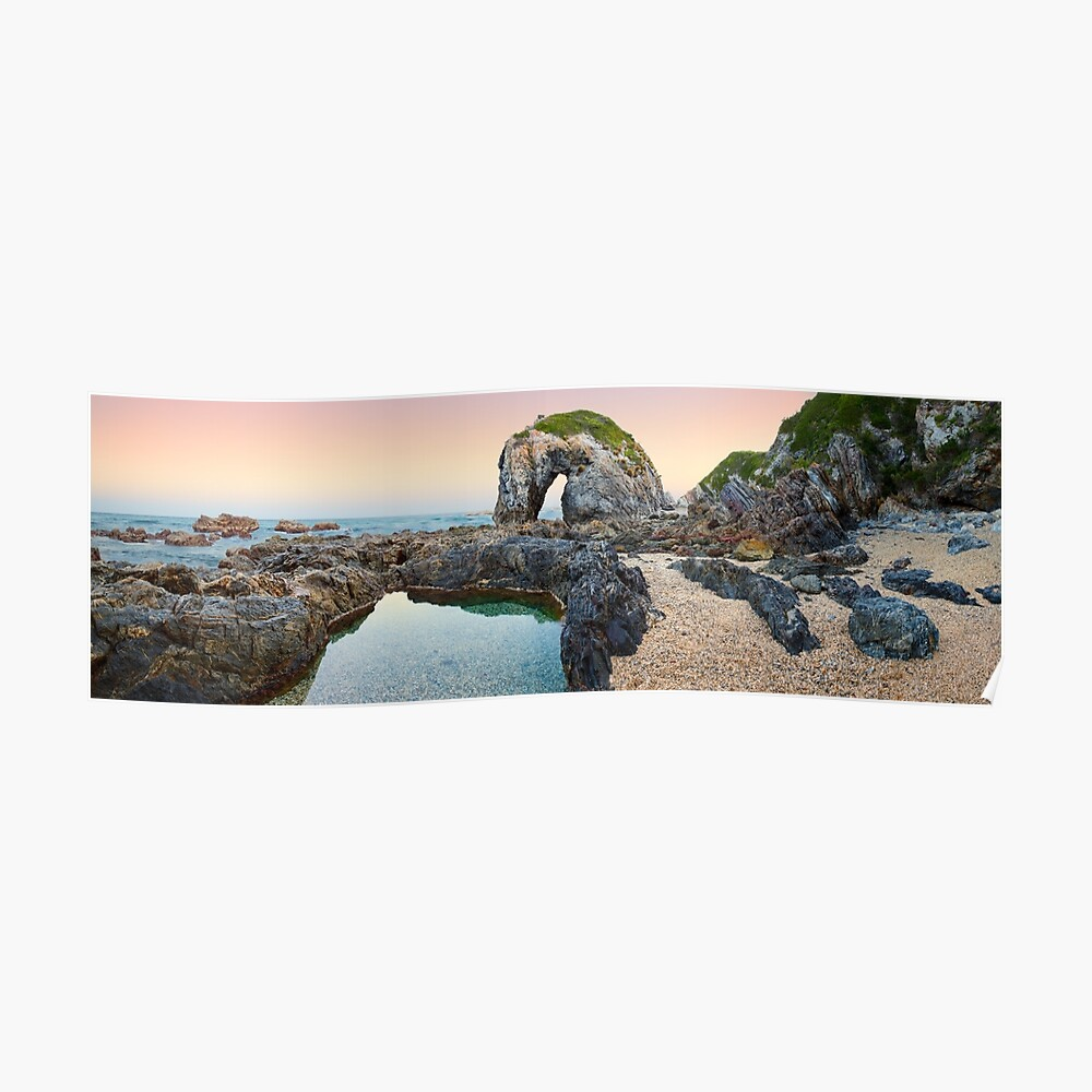 Horse Head Rock, Bermagui, New South Wales, Australia Poster